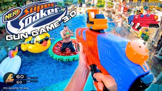 NERF GUN GAME | SUPER SOAKER EDITION 3.0 (Nerf First Person Shooter) Video