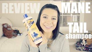 Mane 'n Tail Shampoo Review⎪Horse Shampoo for Hair Growth