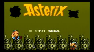 Master System Longplay - Asterix | Asterix (1991)
