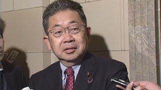 佐川国税庁長官が辞意の意向