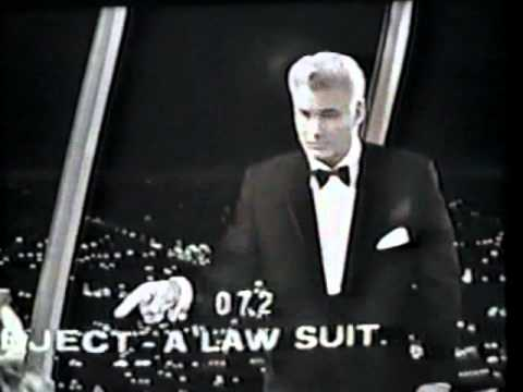 William Hopper Plays 'Stump the Stars' With Perry Mason Cast July 8, 1963