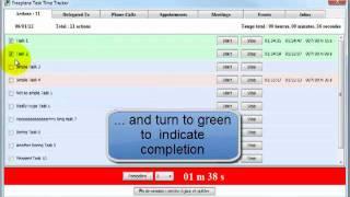 Freeplane Task Time Tracker Video