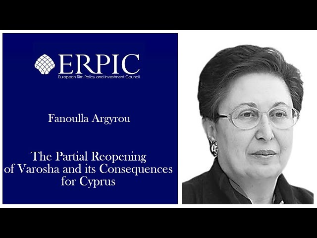 The Partial Reopening of Varosha and Its Consequences for Cyprus