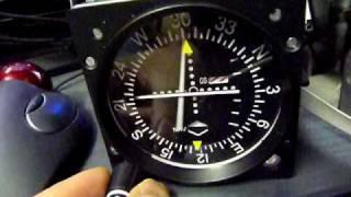 Flight Illusion VOR1, VSI, Altimeter Test