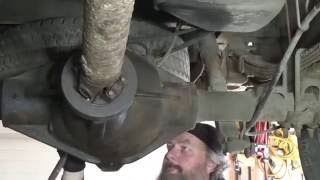 Replace a rear pinion seal on a GM Chevy 2500 HD