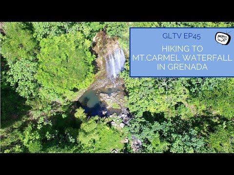 Hiking To Mt.Carmel Waterfall in Grenada