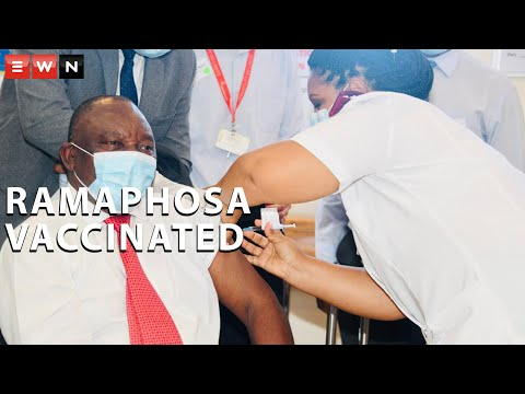 'A milestone for South Africans' - President Ramaphosa gets vaccinated