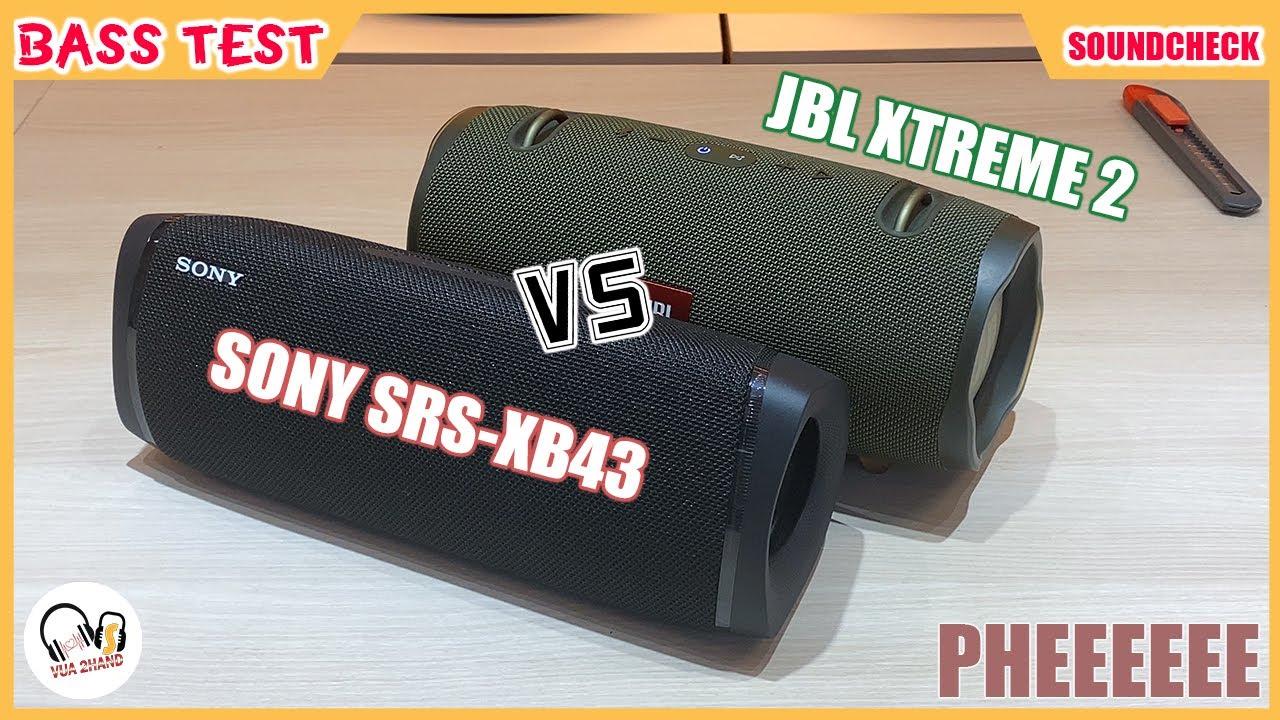 Sony SRS-XB43 & JBL XTREME 2 l Quá Pheeeeeee !!! Đỉnh