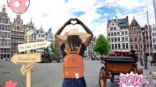 видео Бельгия: едем самостоятельно