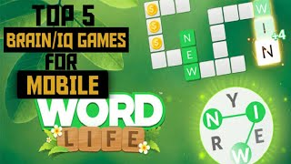 Free Download Best WORD/BRAIN/PUZZLE GAMES for Android/Ios 2020 screenshot 1