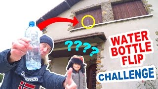 WATER BOTTLE FLIP CHALLENGE Fr en Famille - Qui sera au TOP pour remporter le GOLDEN CADEAU ?