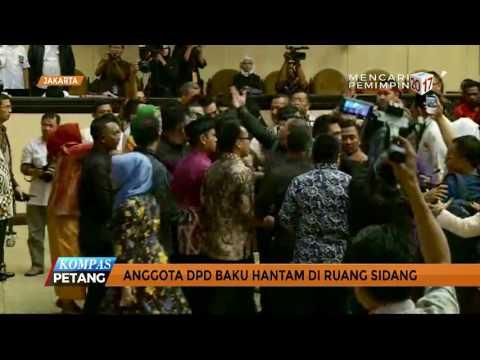 Anggota DPD Banting Rekan di Ruang Sidang