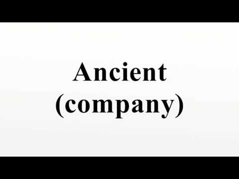 Ancient (company)