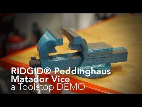 Ridgid 10803 Peddinghaus Matador Vice - From Toolstop