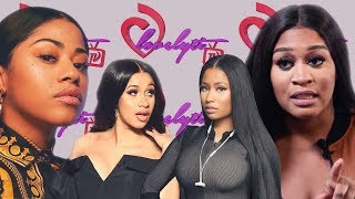 Rah Ali THR3ATENS Hennessy Carolina+ Cardi B and Nicki Minaj go at it! full breakdown & #receipts