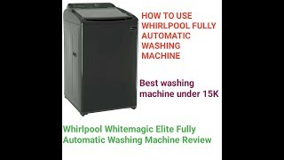 Whirlpool 7 KG Whitemagic Fully Automatic Washing Machine Review #whirlpool #ProDUCKview