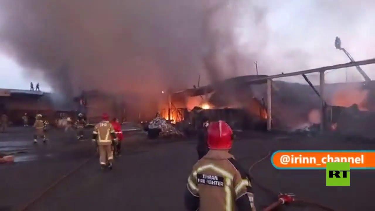 حريق ضخم في مستودعات جنوبي طهران  - نشر قبل 37 دقيقة