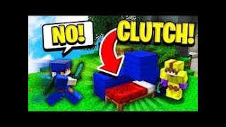 Minecraft Bedwars - The MOST AMAZING CLUTCH IN HISTORY