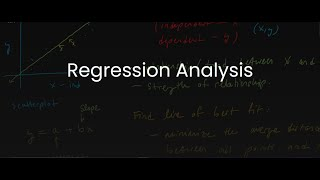 MDM4U/Grade 12 Data Management: 2.4 Regression Analysis