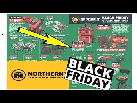 Norther Tool + Equipment Black Friday Tool Deals 2019