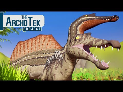 The Archotek Project - Bebê Spinosaurus, Território Do T-Rex! | Dinossauros (#8) (PT-BR)