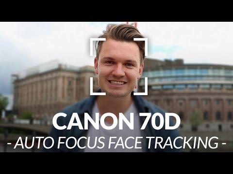 Canon 70D Face Tracking Autofocus Test // Chris Winter