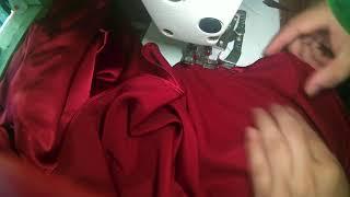 Kelim Bawah Baju yang melingkar setengah lingkaran