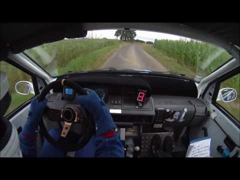 Onboard Renault Clio Williams Main Kinzig Rallye 2016 WP1 Team Wittner
