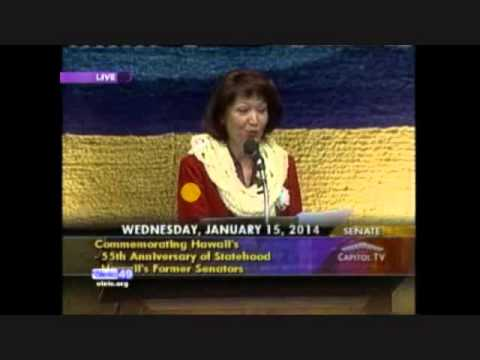 Hawaii State Senate Opening Day Floor Session 2014