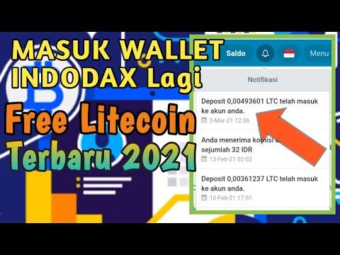 Masuk 0.0049 LTC Wallet Indodax | Situs Bitcoin Langsung WD | Situs Litecoin Terbaru 2021 | BTC