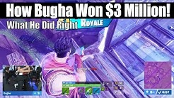 How Sen Bugha Won World Cup and $3,000,000! What He Did Right and Wrong! (Fortnite Vod Review)