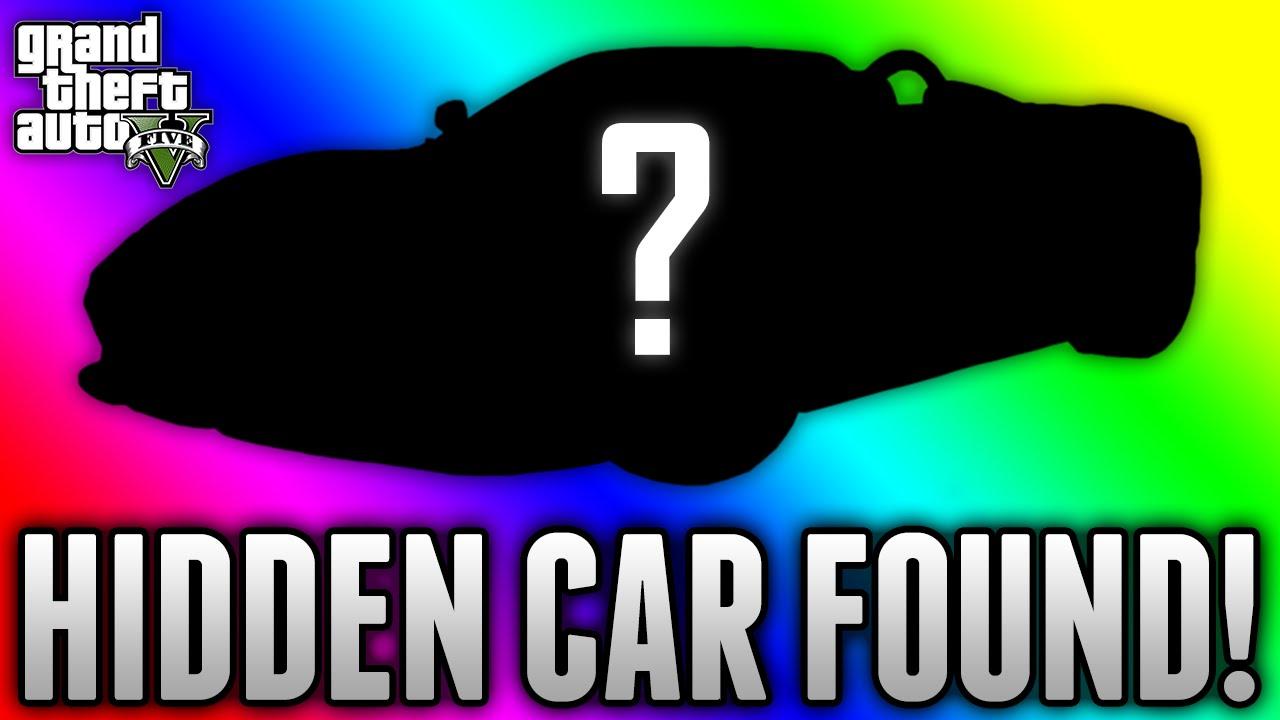 GTA 5 HIDDEN CAR FOUND! - Unseen Secret Car Discovered on GTA 5 (GTA ...