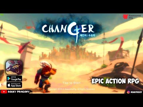 Gilee Keren Banget ini !!! Changer : Guardian (ENG/KR) Android Epic Action RPG - 동영상