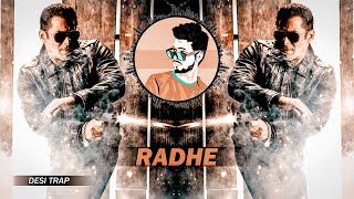 RADHE - Desi Trap - Dj SiD Jhansi   Salman Khan Dialogues