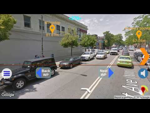 Augmented Street View With Navigation
