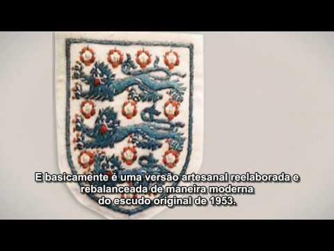 Umbro - Desenvolvimento do novo escudo da Camisa da Inglaterra