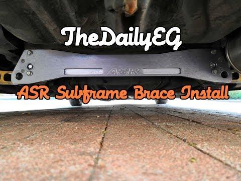 Civic EG | ASR Subframe Brace Install | TheDailyEG