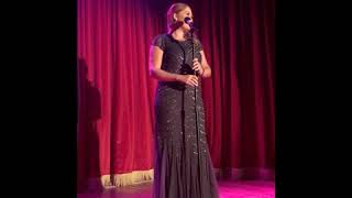 All I Ask Adele Cover  - LADY RED Cabaret 2018