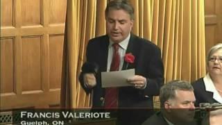 Frank Valeriote speaks on mental health