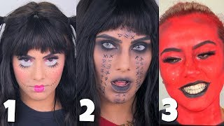 3 EASY HALLOWEEN LOOKS UNDER $20 !! | BodmonZaid
