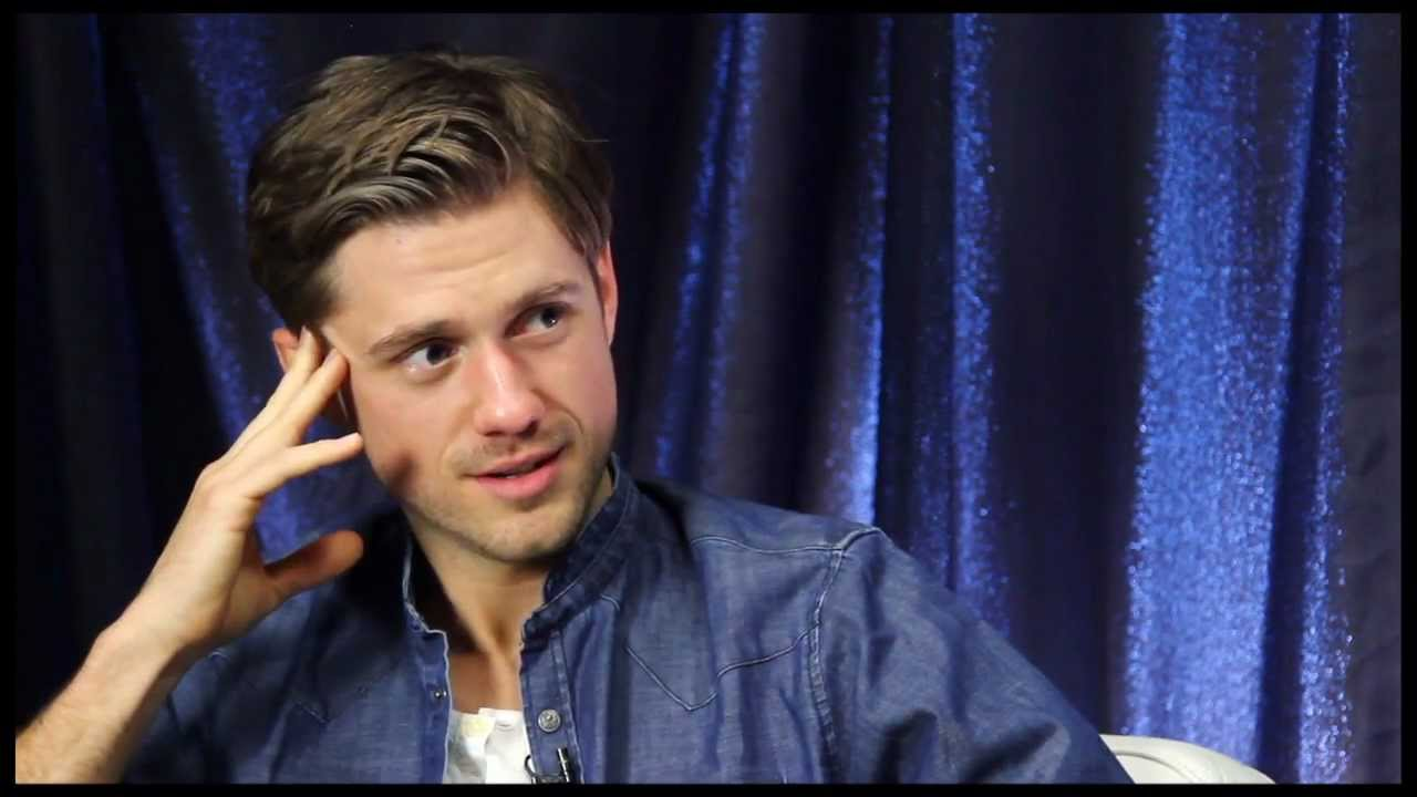 Show People With Paul Wontorek Aaron Tveit Of Quot Les