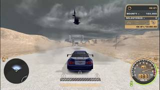 NFS Most Wanted - Nevada Highway (from ProStreet)