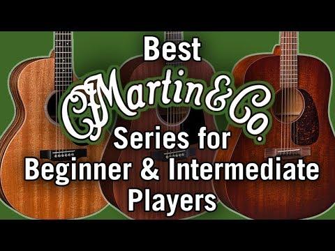 Best Martin Guitar Series for Beginner & Intermediate Players