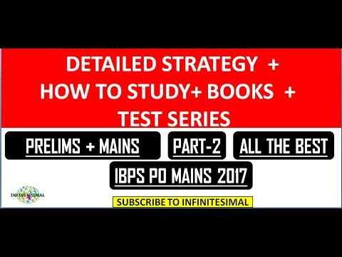 IBPS  PO ( PRELIMS + MAINS ) STRATEGY PART-2 |  DAY TO DAY PLAN