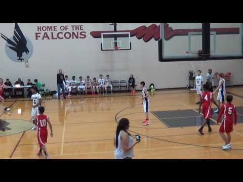 1/11/2017 Fort Settlement MS 8th A vs. Sugar Land MS 8th A