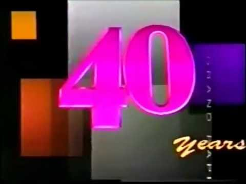 WOTV (now WOOD-TV) 40th Anniversary Ident and 11pm News Open (1989)