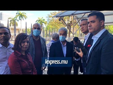 Les journalistes interdits à la conférence de presse d'Arvin Boolell