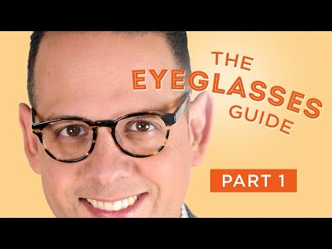 The Eyeglasses Guide for Men, Part I: History & Style Overview