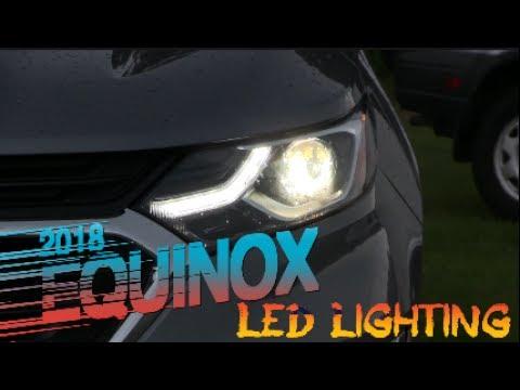 2018 New Chevrolet Equinox 1lt Led Lighting Review