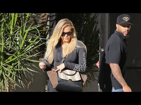 Khloe Kardashian Visibly Upset Leaving L.A. Studio With Extra Security After Kim's Robbery In Paris